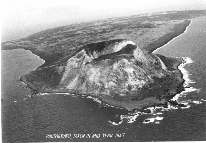 Iwo Jima from the air